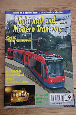 Light Rail and Modern Tramway Aug 96 no 704 (Denver, Melbourne, Blackpool)