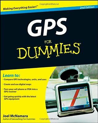 GPS For Dummies,PB,Joel McNamara - NEW