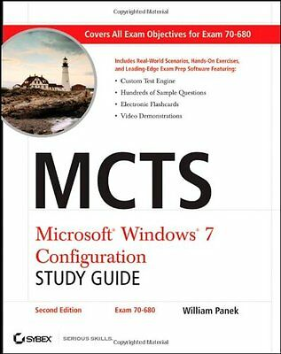 MCTS Microsoft Windows 7 Configuration Study Guide: Exam 70-680 Study Guide,PB,