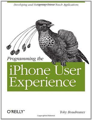 Programming the iPhone User Experience,PB,Toby Boudreaux - NEW