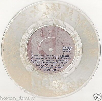 HOMOSEXUALS Faust PETER BLEGVAD R.Stevie Moore RECOMMENDED RECORDS SAMPLER 1982