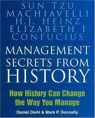 Management Secrets from History: How History Can Change the Way You Manage: His