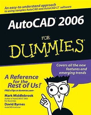 AutoCAD 2006 For Dummies,PB,Mark Middlebrook, David Byrnes - NEW