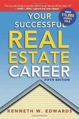 Your Successful Real Estate Career,PB,Kenneth W. Edwards - NEW
