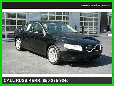 2008 Volvo S80 3.0L Turbo All Wheel Drive One Owner Clean Carfax 2008 S80 All Wheel Drive We Finance and assist with Finance.