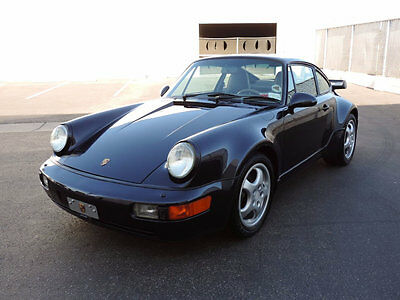 1992 Porsche 911 Turbo 1992 Porsche 911 Turbo 964 Coupe Turbo in Blue Only 28,069 Miles Great Service