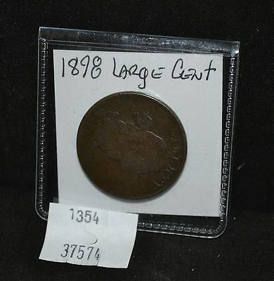 West Point Coins ~ 1798 Draped Bust Large Cent 1st Hairstyle - $0.01
