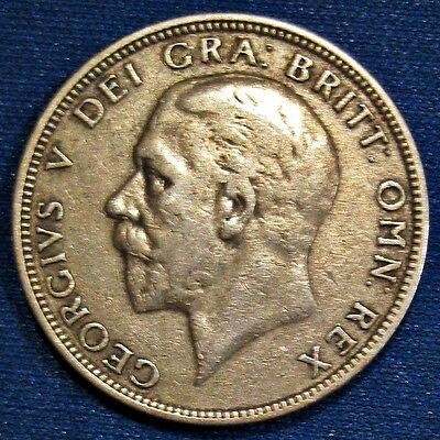 Great Britain 1935 King George V Silver One Florin Coin (Km#834)