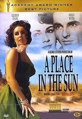 A Place In The Sun(1951) (DVD,All,Sealed,New) Montgomery Clift, Elizabeth Taylor