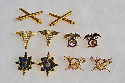 Us Military Uniform Hat Pins Insignia Badges Medals Military Decorations Usa #3