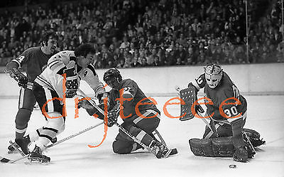 Phil Esposito vs Doug Grant - 35mm Hockey Negative