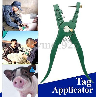 Aluminium Alloy Tag Applicator Tags Plier for Sheep Cattle Pig Goat Ear Marking