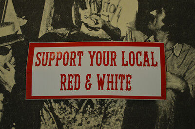 Hells Angels Nomads, AZ USA - Support Local Red & White - Stickers