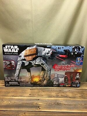 Star Wars Rogue One Imperial AT-ACT Rapid Fire Motorized w/3 Figure BLUETOOTH