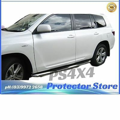 """TOYOTA KLUGER 2011-2013 Running Board Side Steps 3"""" Stainless Steel"""