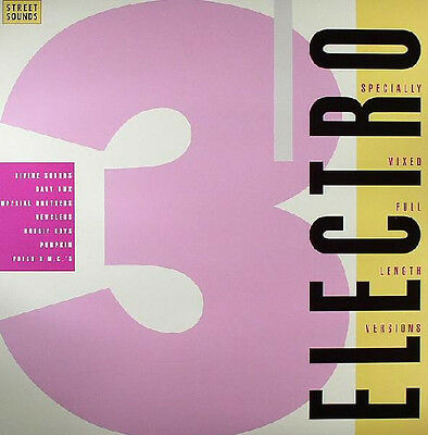 Street Sounds ELECTRO 3 CD - Very rare format