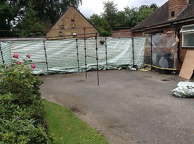 Steel Market Stall - Huge Up To 48ft Wide X 12ft Deep RRP £1,200
