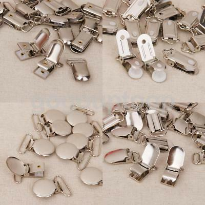 Metal Pacifier Suspender Clips Webbing Hook Dummies Ribbon Holder Crafts Hook