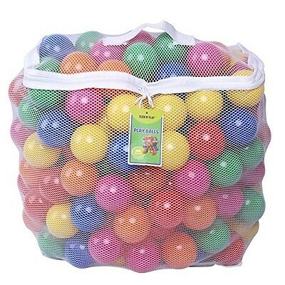 200 Crush Proof Plastic Ball Pit Balls For Inflatable Bouncers Play Phthalate