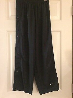 Boys Nike Athletic Pants With Side Snaps Size Youth M (10/12)