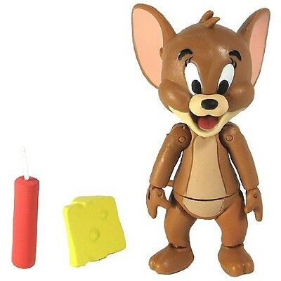 Jazwares Hanna Barbera Tom W/ Hammer & Jerry W/ Dynamite/cheese Action Figures