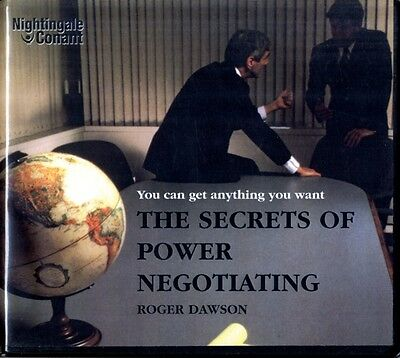 The Secrets of Power Negotiating Roger Dawson (Nightingale Conant) (Audio CD), .
