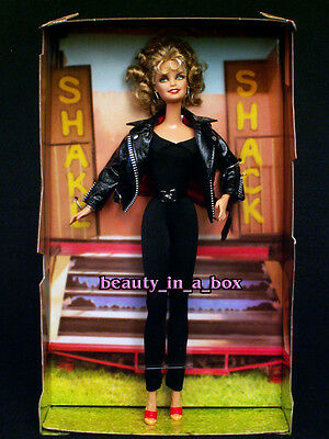 GREASE Barbie Doll NO BOX Sandy Black Leather Olivia Newton John