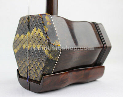 Concert Grade Aged Rosewood Chinese ERHU, with tutorial book+DVD(English)