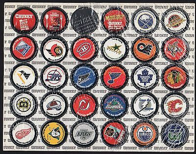 1960's TO 90's NHL COLLECTION OF 25 HOCKEY LEAGUE EMBLEMS
