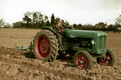Fordson Major Prototype Tractor Colour Photographs