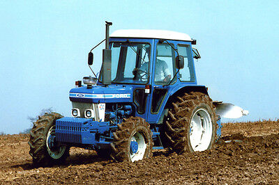 Ford 7610 & 6600  Tractors  Colour Photographs