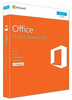 Microsoft Office 2016 Home and Business T5D-02826 - 1 PC - Windows 10