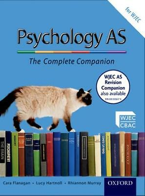 NEW The Complete Companions: AS Student Book for WJEC Psychology ...