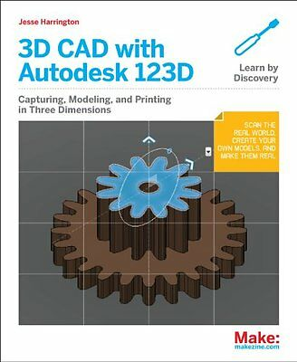Learning 3D CAD with Autodesk 123D,PB- NEW