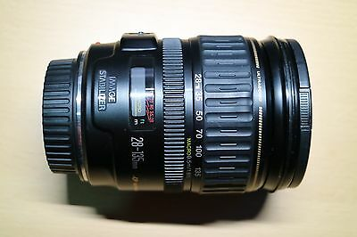 Canon EF 28-135mm f/3.5-5.6 IS USM Lens with Lens Hood - $1 NR - For Canon EOS