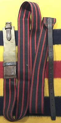 """OVER-SURCINGLE Leather & Buckle - Horse Showing 84"""" Full"""