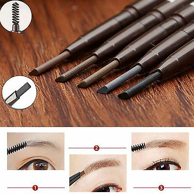 Hi Waterproof Cosmetic Tool Makeup Eye Brow Pen Eyebrow Liner Pencil With Brush