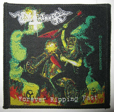"Deathhammer ""Forever Ripping Fast"" Patch hellhammer-venom-inepsy-power from hell"