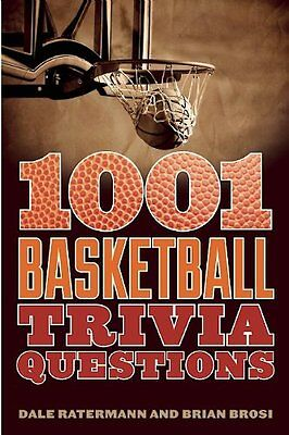 1001 Basketball Trivia Questions,PB,Dale Ratermann - NEW
