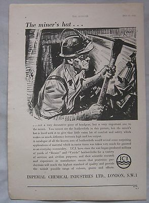 1945 ICI Imperial Chemical Industries Original advert