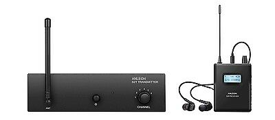 ANLEON S2 Wireless In-ear Monitor System UHF Stereo IEM System Stage Monitoring