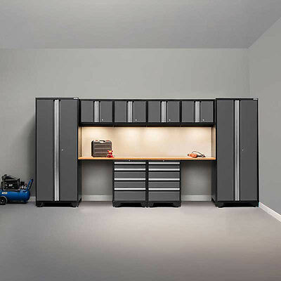 Steel Workshop Storage Cabinets Garage Tools Store Workbench Top Mechanic DIY