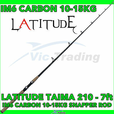 Latitude Taima 210 7ft 2.1m 10-15kg IM6 Carbon Fibre Spinning Fishing Rod