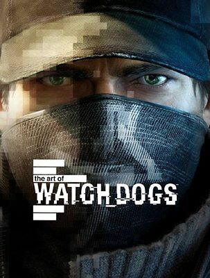 The Art of Watch Dogs,HC,Andy McVittie - NEW