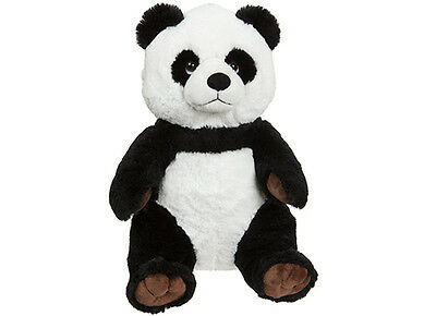 Character Co Sitting Panda Bear Cute Plush Soft Toy 33 cm 470255