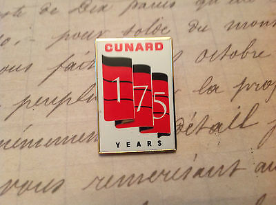 Cunard 175 Th 3 Queens Liverpool Salute Lapel Pin Limited Edition Crew Only