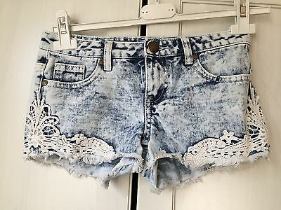 New Look  Girls Denim Shirt Size 10 Years Old