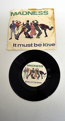 """Madness - It Must Be Love - 45rpm 7"""" Single BUY 134 - 1981"""