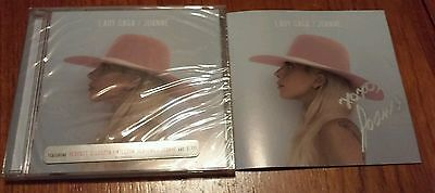 Lady Gaga Joanne Signed Cd Autograph