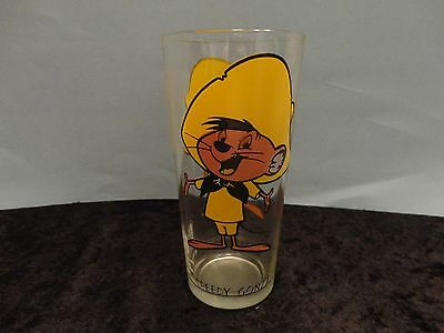 SPEEDY GONZALES - 1973 Pepsi Warner Brothers Collectors Glass